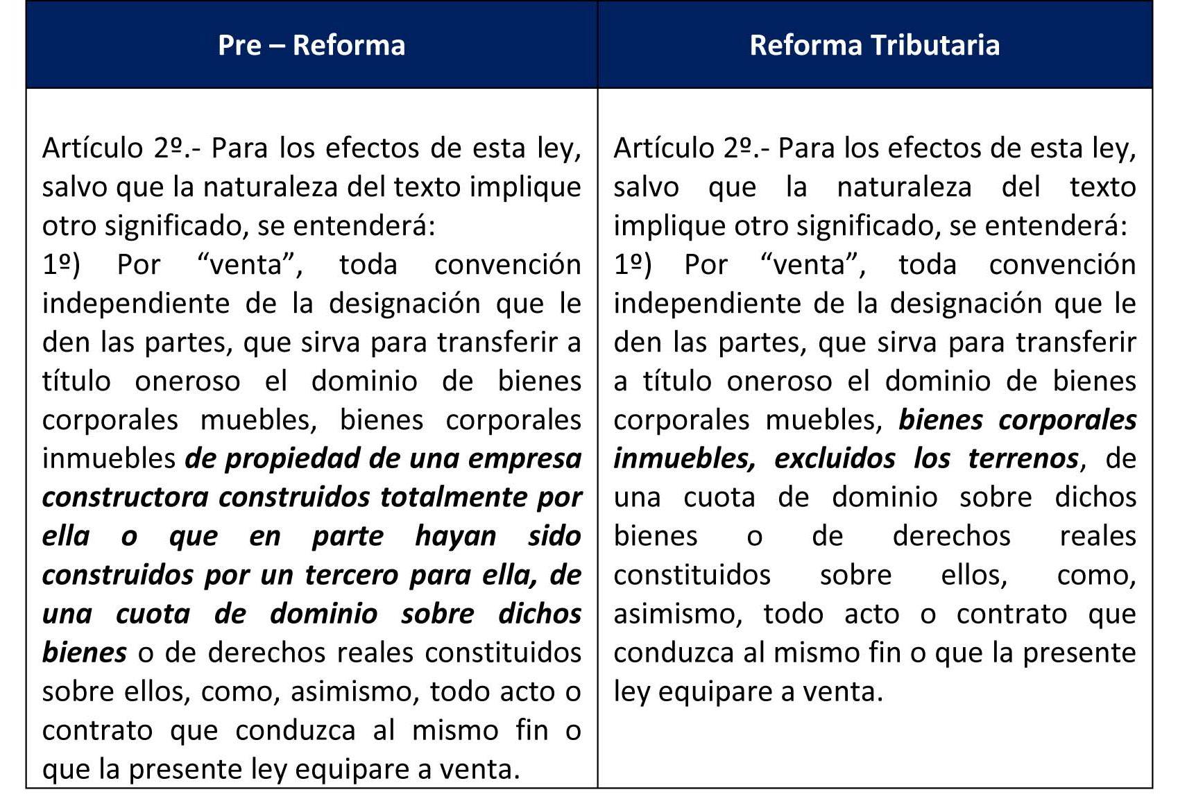Vfcc abogados informa reforma tributaria en materia de for Impuesto de bienes muebles